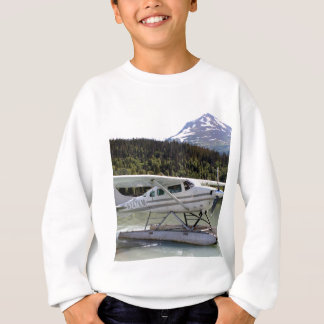 Float plane, Trail Lake, Alaska 3 Sweatshirt