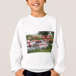 Float planes 5, Lake Hood, Anchorage, Alaska, USA Sweatshirt