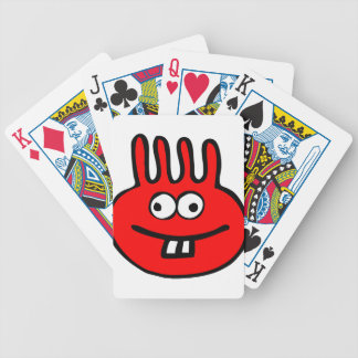 Floatie Monster red Bicycle Playing Cards
