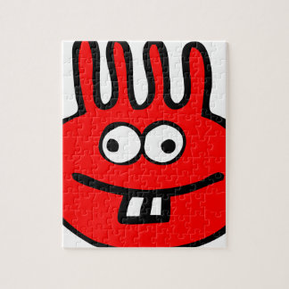 Floatie Monster red Jigsaw Puzzle