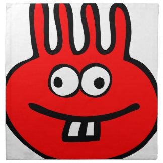 Floatie Monster red Napkin