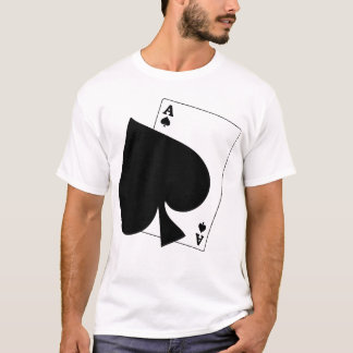 Floating Ace of Spades T Shirt