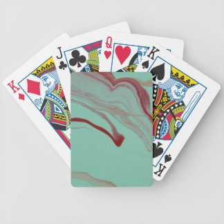Floating Away Bicycle Playing Cards