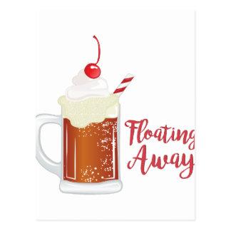 Floating Away Postcard