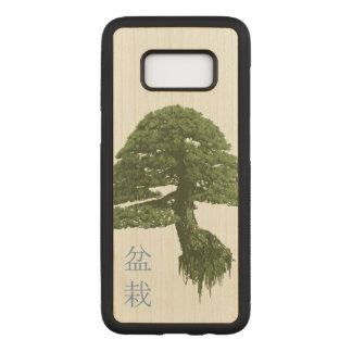 Floating Bonsai Tree Wood Galaxy S8 Case (Maple)