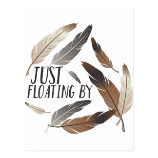 Floating By Postcard