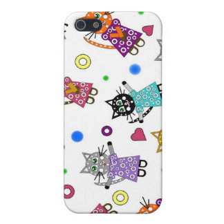 Floating Cats Iphone Case iPhone 5/5S Case