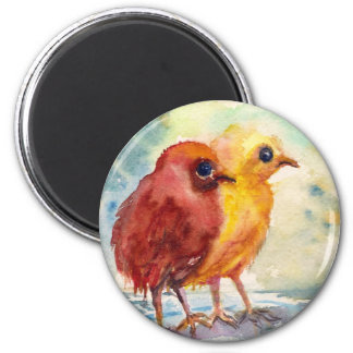 Floating Chicks 2 Inch Round Magnet