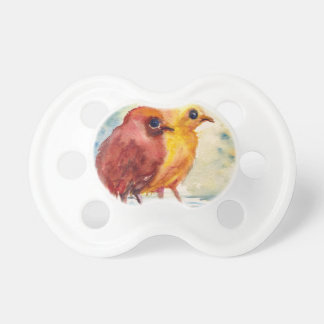 Floating Chicks Pacifier