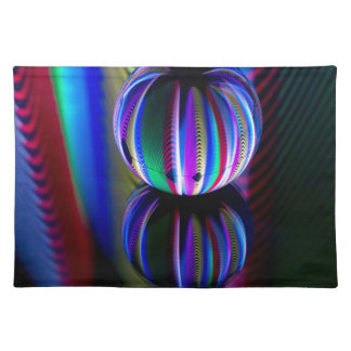 Floating crystal ball placemat