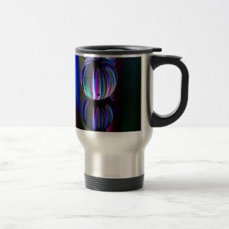 Floating crystal ball travel mug