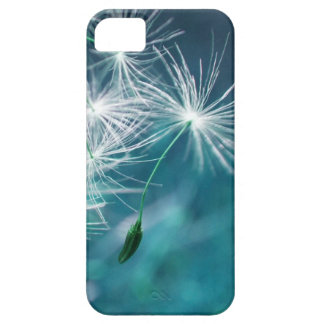 Floating Dandelion (Blue) iPhone 5 Cover