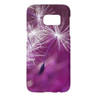 Floating Dandelion (purple) Samsung Galaxy S7 Case