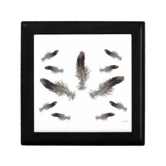 Floating Feathers Gift Box