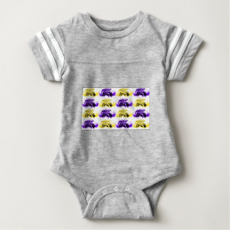 Floating Flowers Baby Bodysuit