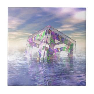 Floating Fractal Tile