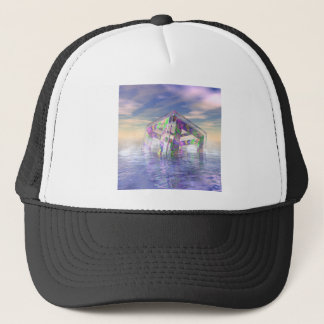 Floating Fractal Trucker Hat