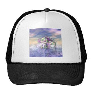 Floating Fractal Trucker Hat