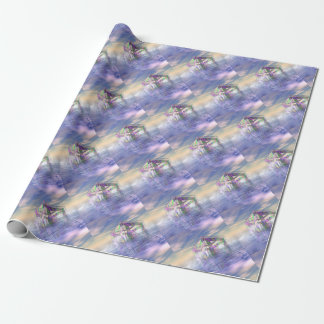 Floating Fractal Wrapping Paper