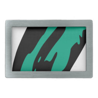 Floating Ghost Rectangular Belt Buckles