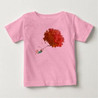 FLOATING GIRL by Slipperywindow Baby T-Shirt