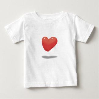 Floating Heart, Heart Balloon Baby T-Shirt