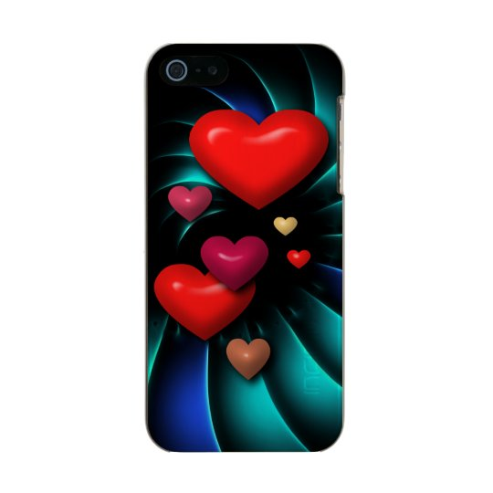 Floating Hearts Incipio Feather® Shine iPhone 5 Case