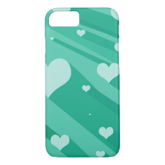 Floating Hearts iPhone 7 case