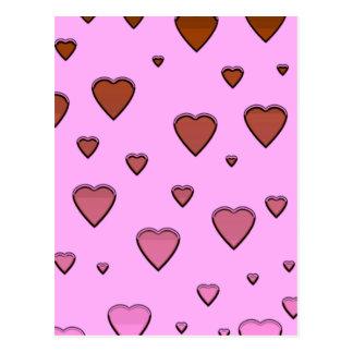 Floating Hearts Postcard