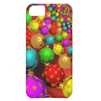 Floating Holiday Ornaments Case For iPhone 5C