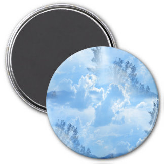 Floating in the clouds... magnet