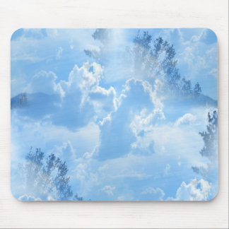 Floating in the clouds... mouse pad