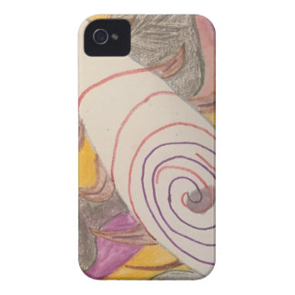 Floating in The Rainbow Void iPhone 4 Case-Mate Case