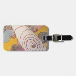 Floating in The Rainbow Void Luggage Tag