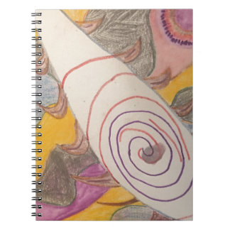 Floating in The Rainbow Void Notebook