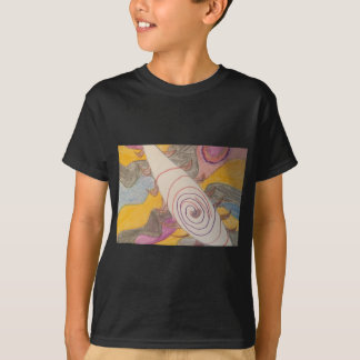 Floating in The Rainbow Void T-Shirt