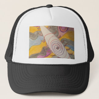 Floating in The Rainbow Void Trucker Hat