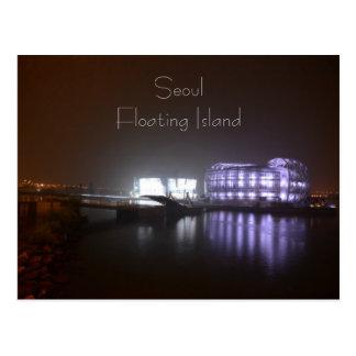 Floating Island Postcard