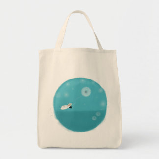 Floating Marty Grocerty Totebag Tote Bag