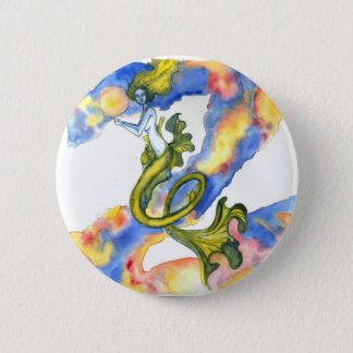 Floating Mermaid Button