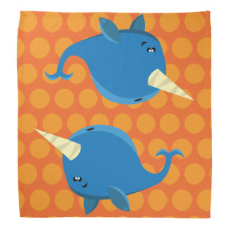 Floating Narwhal - Bandana