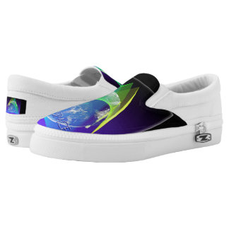 Floating on-Air Zipz Slip On-Shoes US-Women Slip-On Sneakers