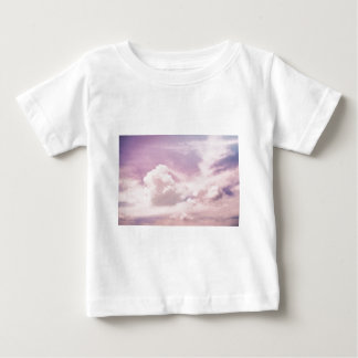 Floating on Fluffy Purple Clouds Baby T-Shirt
