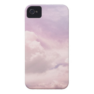 Floating on Fluffy Purple Clouds iPhone 4 Covers