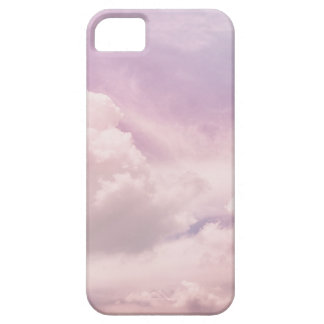Floating on Fluffy Purple Clouds iPhone 5 Cases