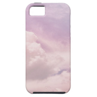 Floating on Fluffy Purple Clouds iPhone 5 Covers