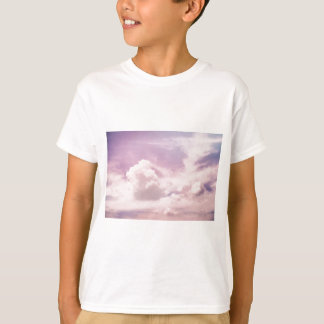 Floating on Fluffy Purple Clouds T-Shirt