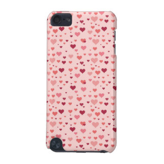 Floating Pink Hearts Valentine's Day Pattern iPod Touch (5th Generation) Covers