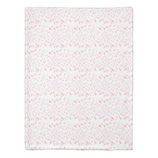 Floating  Pink Petals Pattern Duvet Cover