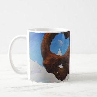 Floating rock & ice - coffee mug